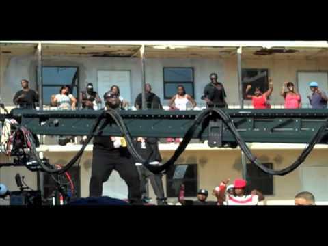 "DJ Nasty Behind The Scenes video shoot ""Welcome To My Hood"""