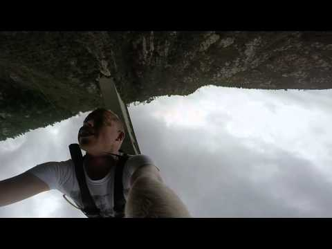 Worlds Longest GoPro Bungee jump Bloukrans Bridge