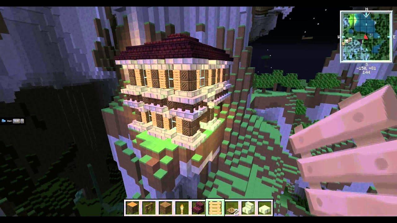 Haus Im Berg Lets Build Minecraft GermanDeutsch FullHDp - Minecraft haus bauen im berg