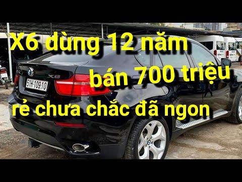 BMW X6 dùng 12 năm, bán 700 triệu - 'rẻ chưa chắc đã ngon' x 360 xe