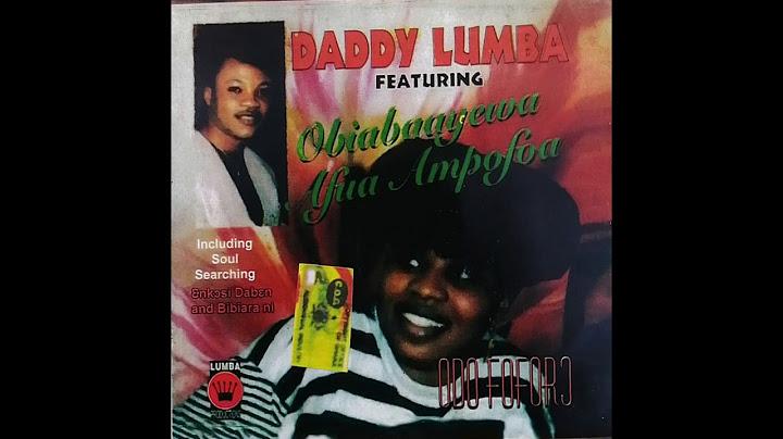 daddy lumba  opono hini me audio slide