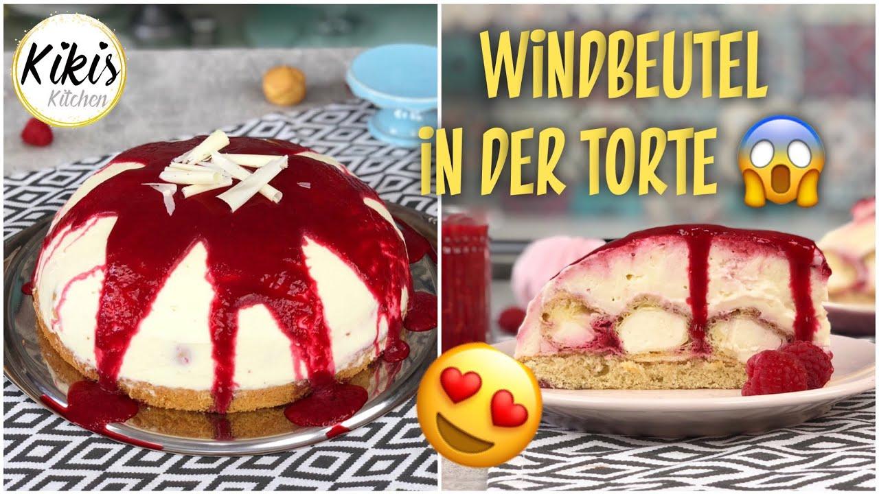 Kinderleicht Leckere Windbeutel Torte Mini Windbeutel Mit