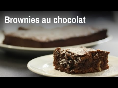 Recette De Brownies Au Chocolat Youtube