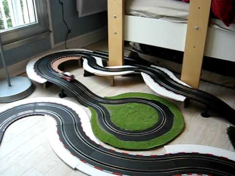 circuit rally carrera go citroen loeb youtube. Black Bedroom Furniture Sets. Home Design Ideas
