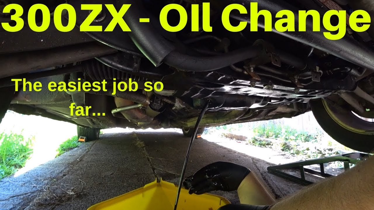 300ZX - How to change your oil on a Z32