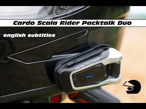 DansTonCasque : Intercom Cardo Scala Rider Packtalk