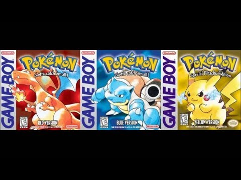 Our Top 10 - Pokemon Red, Blue & Yellow Songs - MrLongestVideos