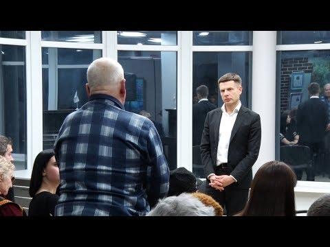 Народний депутат Олексій Гончаренко зустрівся із житомирянами