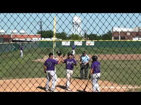 Bryan Benz, Ranger College, 4-23-16 with 2 Home Runs and a Double with Rawlings Velo