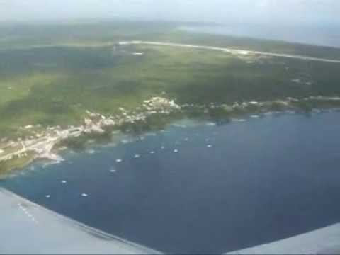 Niue from the Sky plus the whales