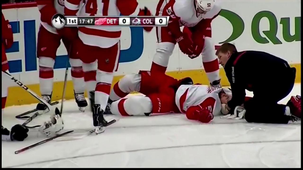5 Bad Hockey Injuries 2 Youtube