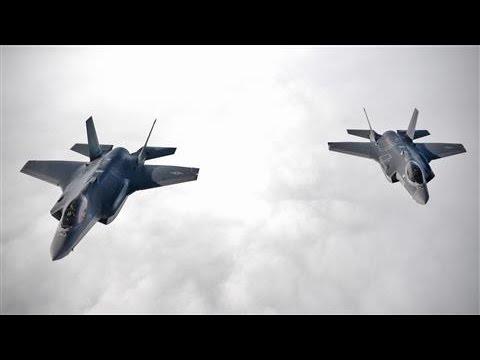 U.S. F-35A Jets Flex Muscle Amid Russia Tensions