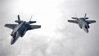 Baixar U.S. F-35A Jets Flex Muscle Amid Russia Tensions