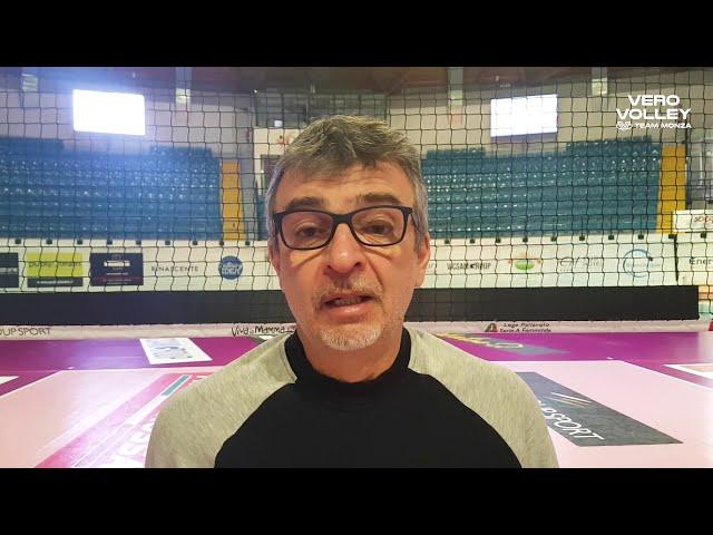 Massimo Eccheli pre Consar Ravenna vs Vero Volley Monza
