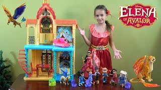 elena of avalor and frozen anna and elsa royal visit story with elena of avalor castle and princess