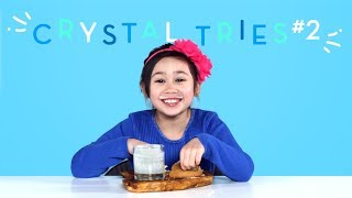 Crystal Tries: Part 2 | Kids Try | HiHo Kids