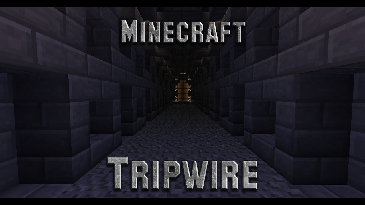 how to set up a tripwire in minecraft