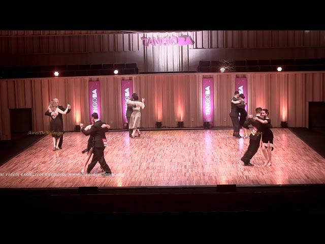 Mundial de tango  2021 Ronda 13 Pista, tema 1de3 Tango Buenos Aires #TangoBA