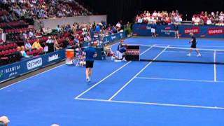 Bjorn Borg vs Jim Courier - Champion Series Tennis