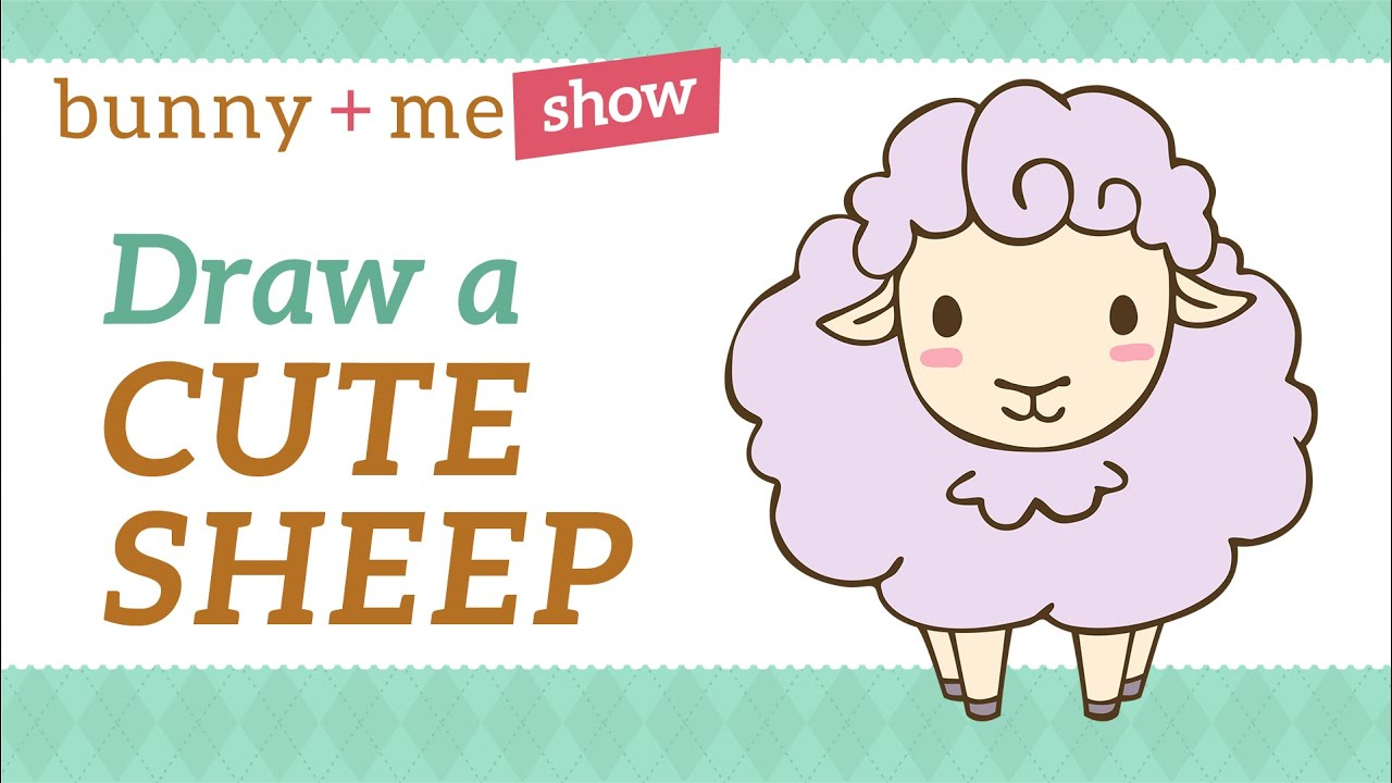 Cute Sheep Drawing Tumblr Easy Drawing Tutorial How To Draw A Cute Sheep Youtube