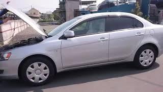 Видео-тест автомобиля Mitsubishi Galant Fortis (серебро, CY4A-0103465, 4B11, 2007г.)