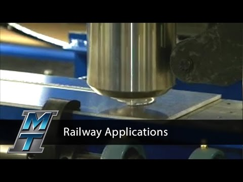 Friction Stir Welder for Railway Applications - Model RM-2