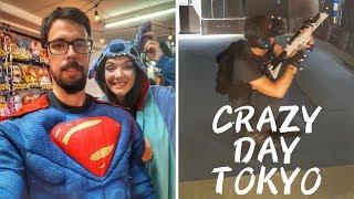 JAPAN VLOG #25 - CRAZY TOKYO DAY