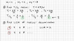 How To Find The Fundamental Frequency Of a Fourier Series (wo,fo,To)