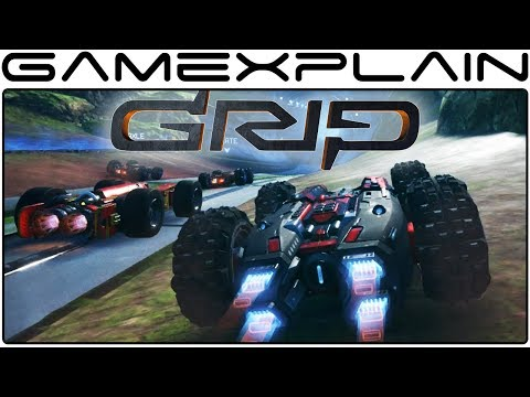 13 Minutes of GRIP Gameplay - Nintendo Switch (PAX East)