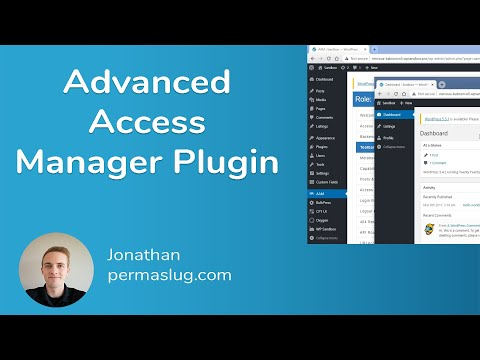Advanced Access Manager for WordPress - Configure Access Based on User Role