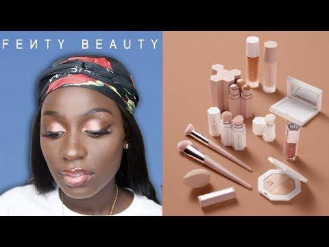 Fenty Beauty Review For Dark Skin #490 #470