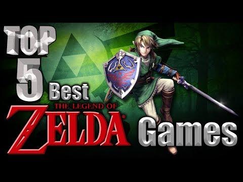 Top 5 Best The Legend of Zelda Games