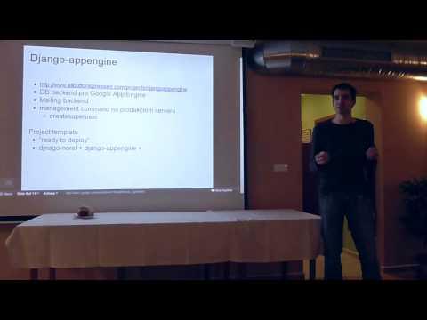 Roman Krejčík: Django & Google App Engine @ django-cs meetup #2
