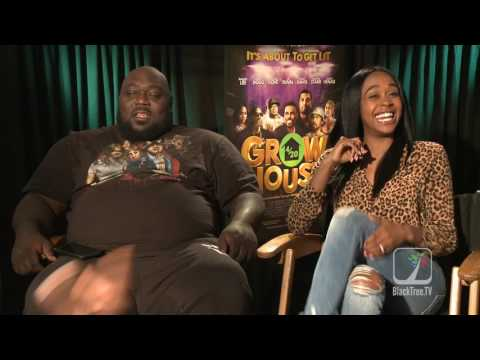 Faizon Love And Raquel Lee crazy interview for Grow House🏡