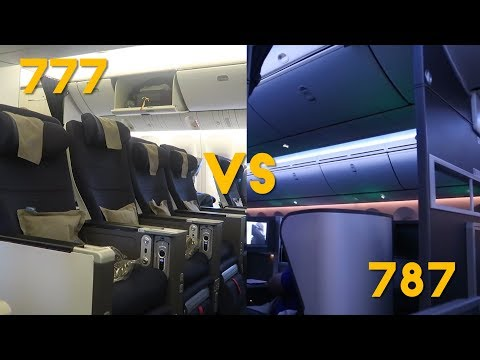 BA World Traveller Plus (Premium Economy) 777 VS 787, Which is Better?