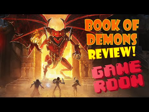 Book of Demons - Diablo Meets Paper Mario - Game Room