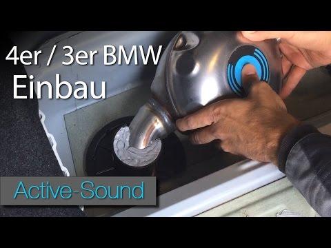 Active Sound Einbauanleitung für 4er BMW und 3er BMW / Tutorial