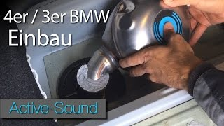 Active Sound installation manual 4 series and 3series BMW / Tutorial