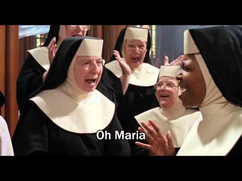 "Sister Act (1992) - ""Oh Maria"" - Video/Lyrics (HD)"