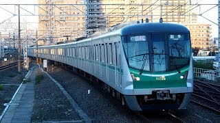 2018/10/02 常磐線 東京メトロ 16000系 16105F 金町駅 | JR East: Tokyo Metro 16000 Series 16105F at Kanamachi