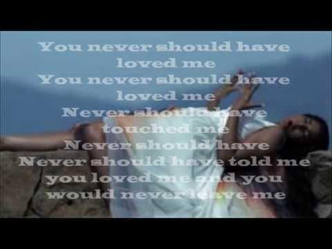 Ashanti - Never Should Have (Lyrics)
