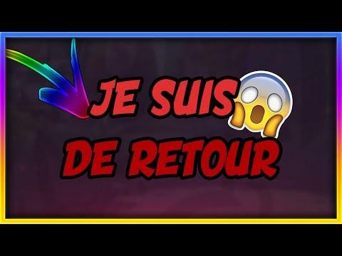 JE SUIS DE RETOUR !!!!!!