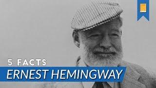 Video Top 5 Facts - Ernest Hemingway download MP3, 3GP, MP4, WEBM, AVI, FLV Januari 2018