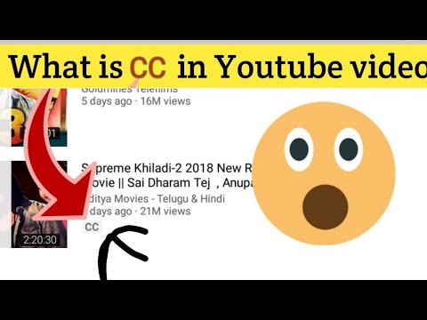 What is cc in youtube video   Community contributions   captions   what is cc below youtube video