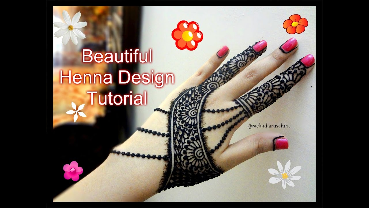 Henna Tattoo Designs For Diwali: Easy Simple Beautiful Henna Mehndi Designs For Hands
