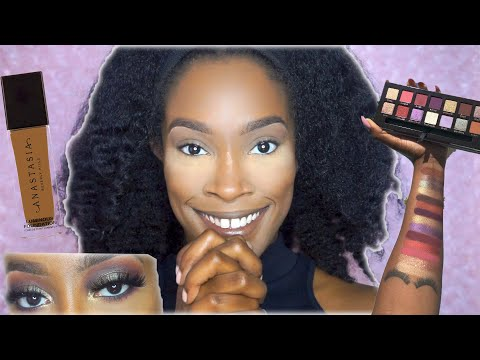 JACKIE AINA X ABH PALETTE TUTORIAL & REVIEW.. TOTALLY FAN GIRLING | ABH LUMINOUS FOUNDATION 480C thumbnail