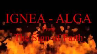 Ignea - Alga Lyrics On Screen