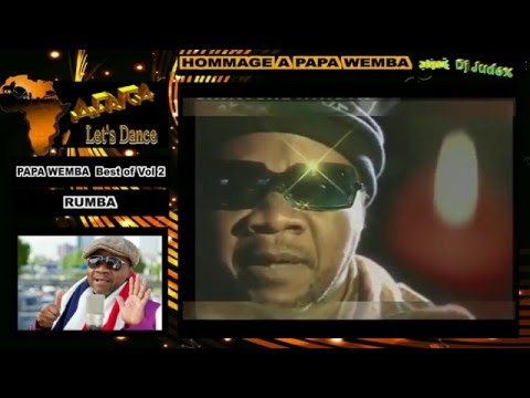 HOMMAGE A PAPA WEMBA  Best of vol 2 (RUMBA) - DJ JUDEX