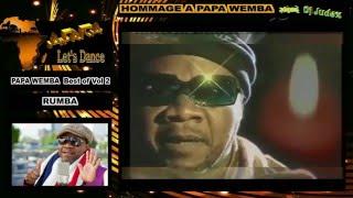 HOMMAGE A PAPA WEMBA  Best of vol 2 (RUMBA) - DJ JUDEX
