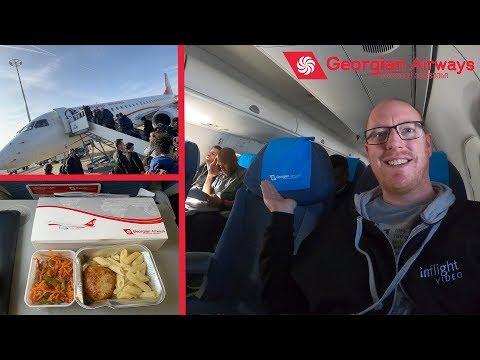 Georgian Airways Review: Georgia's National Airline!